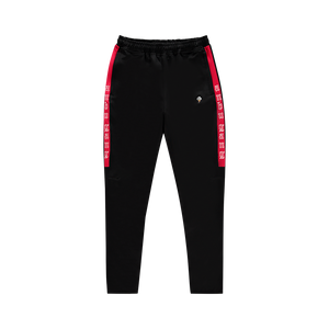 ANBU GANG BLACK/RED TRACK PANTS