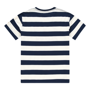 ANBU GANG NAVY/WHITE STRIPED TEE