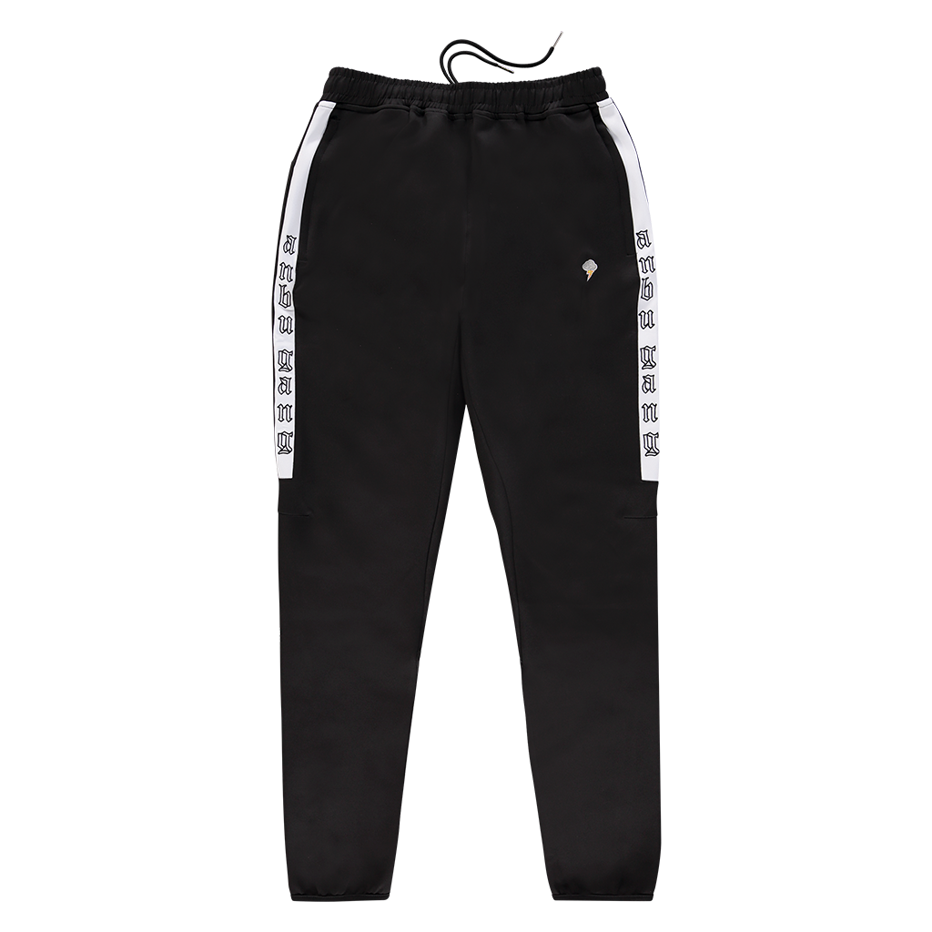 ANBU GANG BLACK TRACK PANTS
