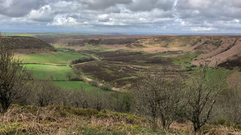 Hiking in the North York Moors National Park: The Hole of Horcum