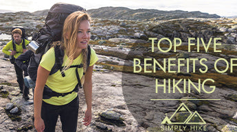 Top Five Benefits of Hiking