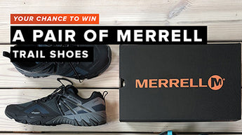 Win a pair of trail shoes with Merrell Footwear