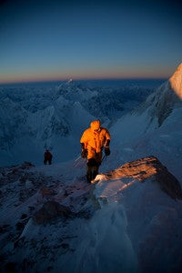 Banff Mountain Film Festival features the film Cold, about an attempt to climb one of Pakistan's 8000m peaks. Credit: Cory Richards Photography, LLC 2011