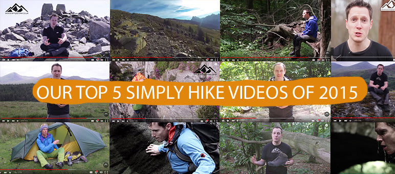 Our Top 5 Simply Hike Videos of 2015