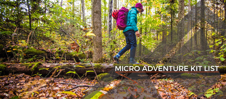 Micro Adventure Kit List
