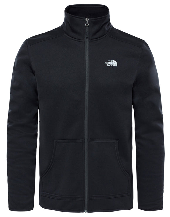 The North Face Mens Tanken Full Zip Fleece - TNF Black