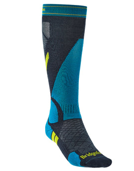 Bridgedale Mens Ski Lightweight Merino Endurance Sock - Denim Blue