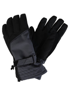 Dare2B Mens Out Ranked Glove - Ebony Grey