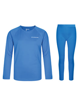 Dare2B Kids Equate Base Layer Set - Athletic Blue