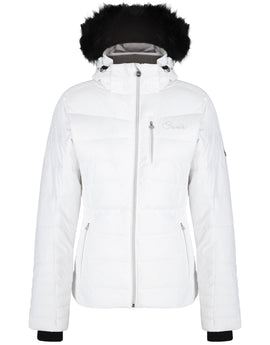 Dare2B Womens Curator Jacket - White