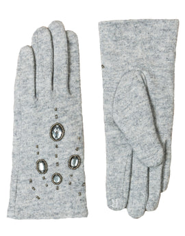 Pia Rossini Piper Glove - Silver Grey
