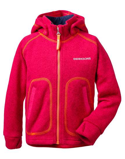 Didriksons Kids Strokken Fleece - Warm Cerise