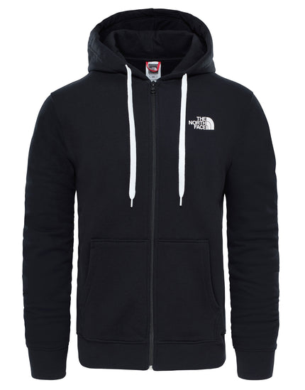 The North Face Mens Open Gate FZ Hoodie - Black Grey