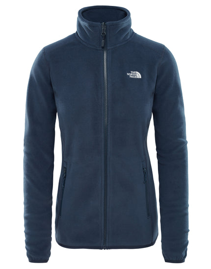 The North Face Womens 100 Glacier Full Zip Fleece - Urban Navy