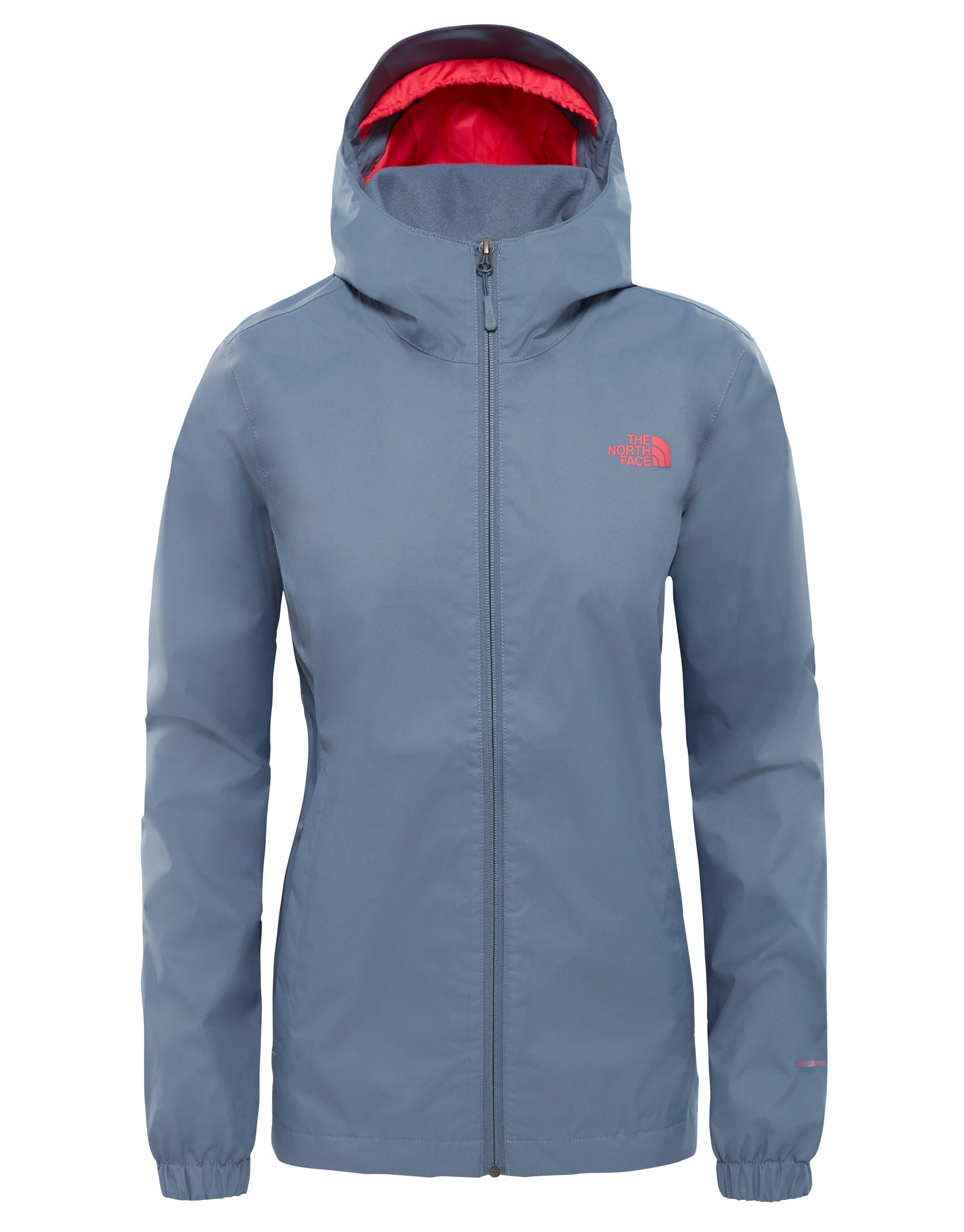 c4765ca9e885 The North Face Womens Quest Jacket - Grisaille Grey