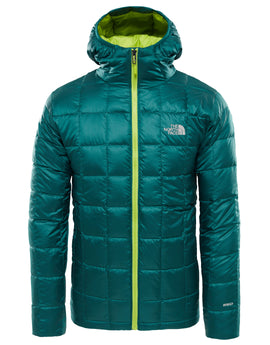 The North Face Mens Kabru Hooded Down Jacket - Botanical Garden