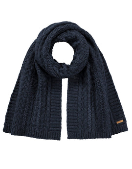 Barts Anemone Scarf - Navy