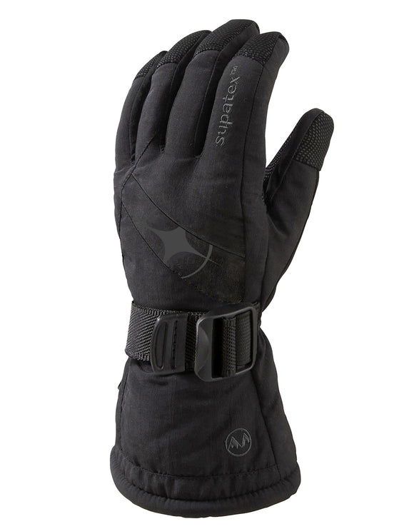 Manbi Mens Epic Ski Glove - Black