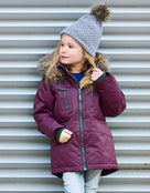 Color Kids Kids Kalata Parka Jacket - Pickled Beet