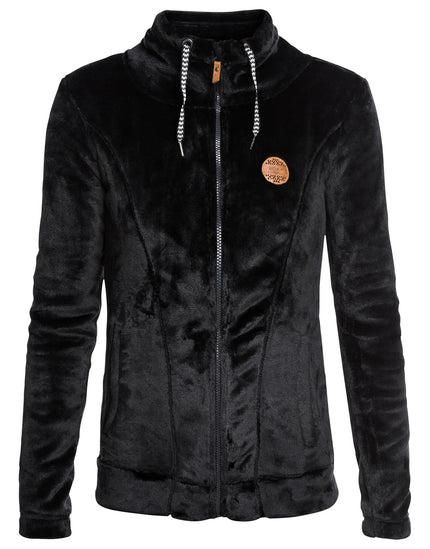 Roxy Womens Eskimo Teddy Fleece - True Black