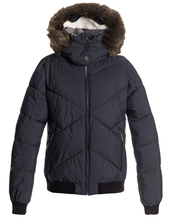 Roxy Womens Hanna Jacket - True Black