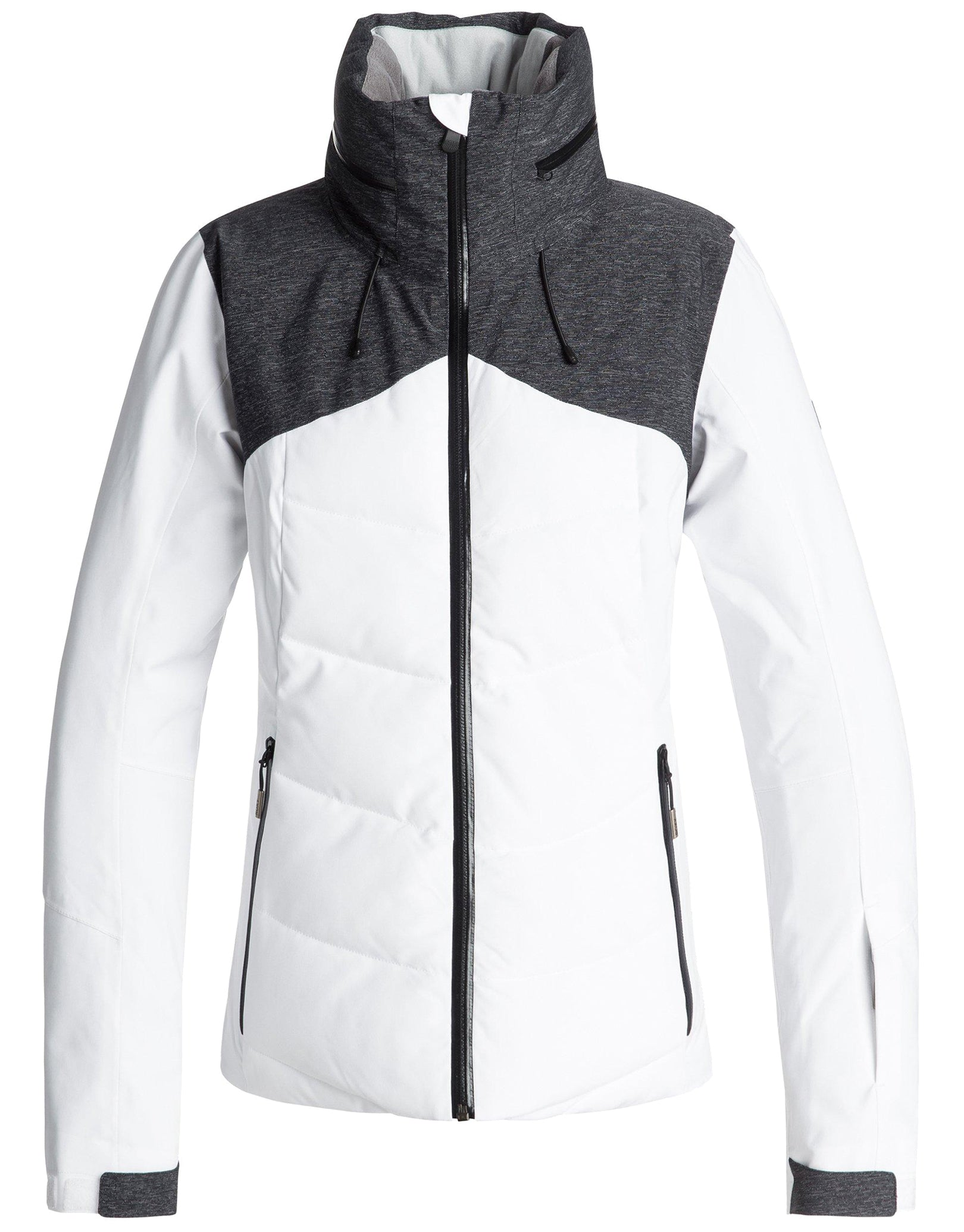 Roxy Womens Flicker Ski Jacket - Bright White  34e7a6990