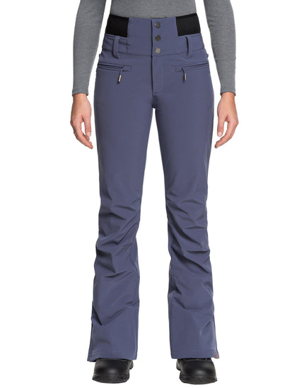 Roxy Womens Rising High Ski Pant - Crown Blue
