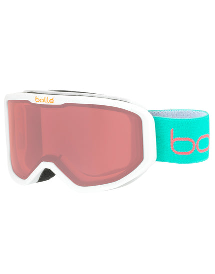 Bolle Kids Inuk Ski Goggle - Matte White Animals with Vermillon Lens