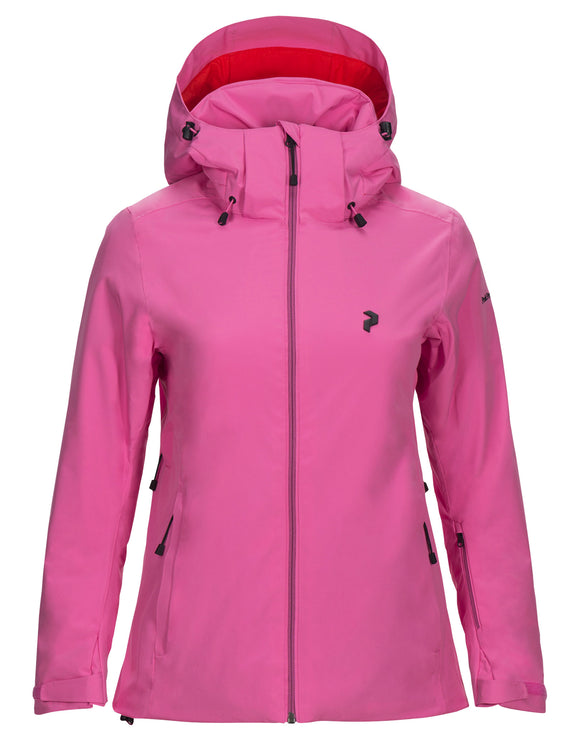 Peak Performance Womens Anima Ski Jacket - Vibrant Pink