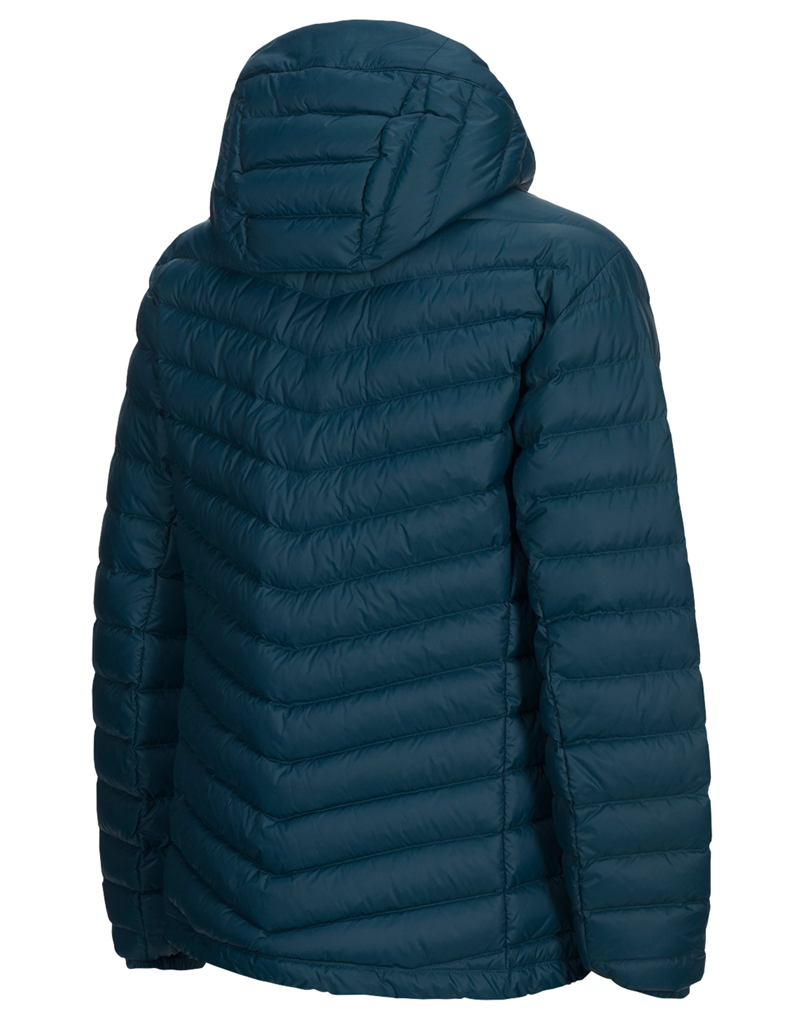 2a3e0be023a Mens Frost Down Hood Jacket - Teal Extreme