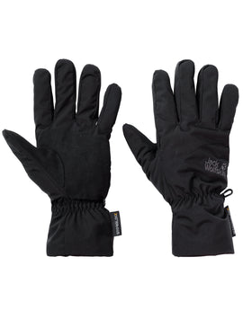 Jack Wolfskin Mens Stormlock High Loft Glove - Black