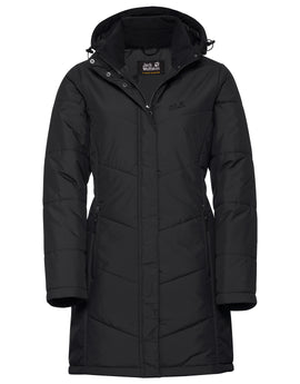 Jack Wolfskin Womens Svalbard Coat - Black
