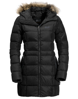 Jack Wolfskin Womens Baffin Island Coat - Black