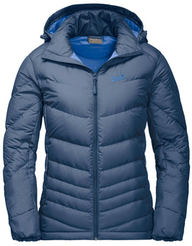 Jack Wolfskin Womens Selenium Down Jacket - Ocean Wave