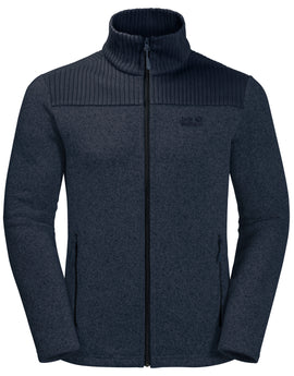 Jack Wolfskin Mens Scandic Fleece Jacket - Night Blue