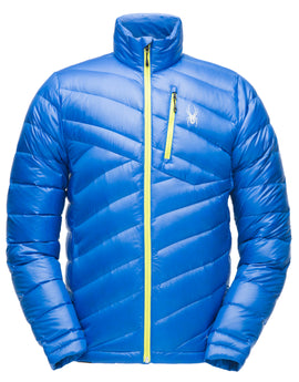 Spyder Mens Syrround Down Jacket - Turkish Sea