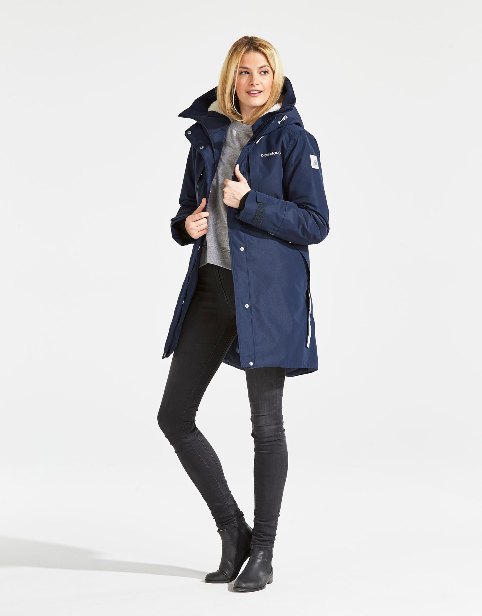 Details about Didriksons Silje 3 Womens Insulated Waterproof Parka