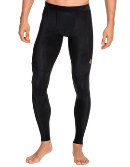 Simply Hike UK Mens A400 Long Tights - Black