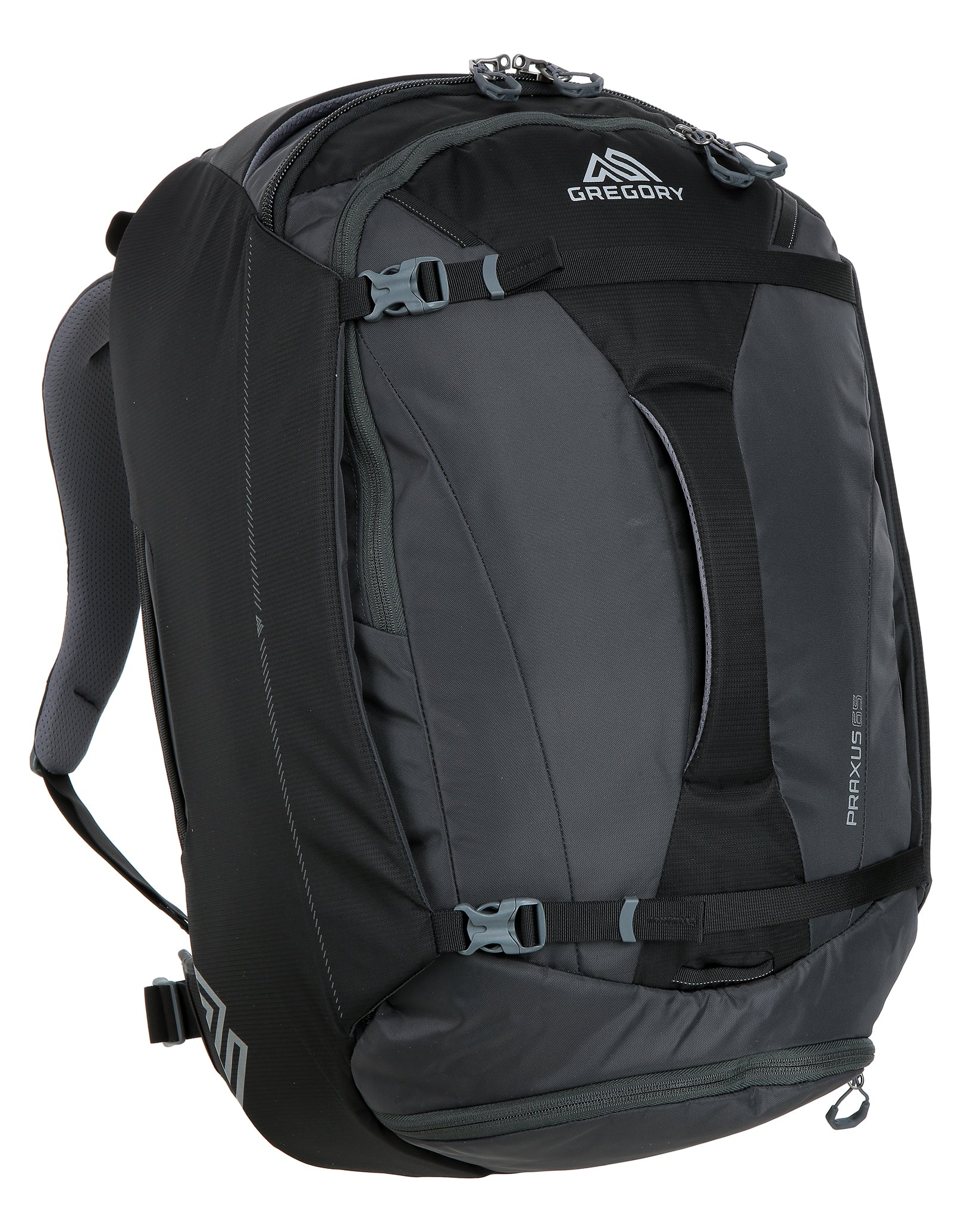 Gregory Praxus 65 Rucksack - Pixel Black   Simply Hike UK e6ac753c0c