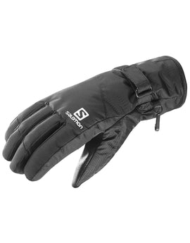 Salomon Mens Force Dry Glove - Black