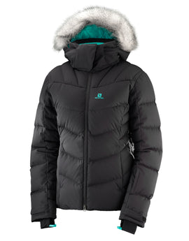Salomon Womens Icetown Ski Jacket - Black