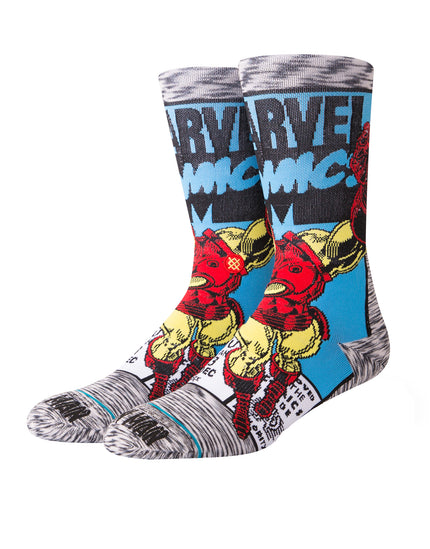 Stance Mens Iron Man Comic Socks