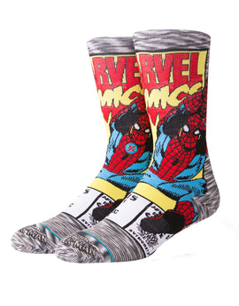 Stance Mens Spiderman Comic Socks