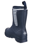 Muck Boot Company Womens Cambridge Mid Wellies - Navy Stripe