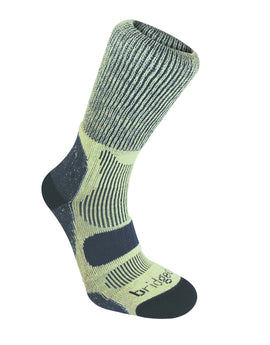 Bridgedale Mens Hike Lightweight Cotton Cool Sock - Indigo