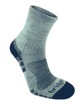 Bridgedale Mens Hike Lightweight Merino Endurance Ankle Sock - Silver Navy