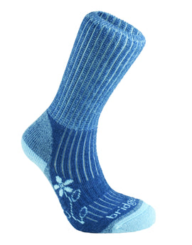 Bridgedale Womens Hike Midweight Merino Sock - Blue