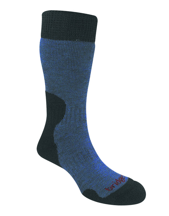 Bridgedale Womens Explorer Heavyweight Merino Sock - Storm Blue