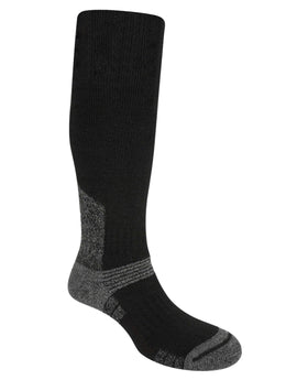 Bridgedale Mens Explorer Heavyweight Merino Endurance Knee Sock - Black