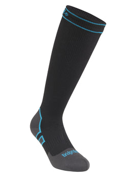Bridgedale Mediumweight Knee Storm Sock - Black